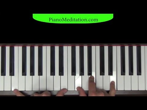 At the Cross - How to Play on Piano