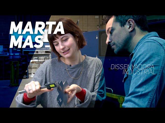 La Marta Mas fa de dissenyadora industrial