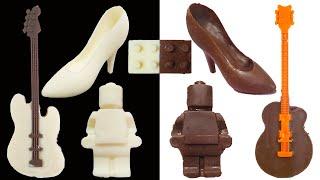 White VS Milk chocolate Food C…
