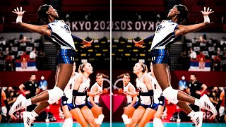The Art of Paola Egonu | Most Powerful Volleyball Spiker in The WORLD (HD)