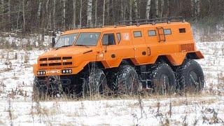 РУСАК-3994 четыре мотора на четыре оси