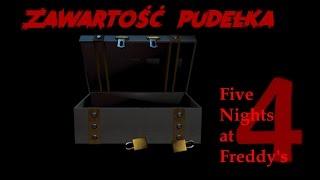 Co znajduje się w pudełku FNaF4? - Teoria Five Nights at Freddy's