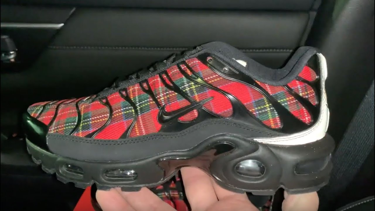 25f15b3e245a Nike Air Max Plus Tartan Plaid womens shoes - YouTube