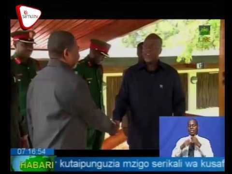 Rais Shein Akutana Na Rais Magufuli Dodoma
