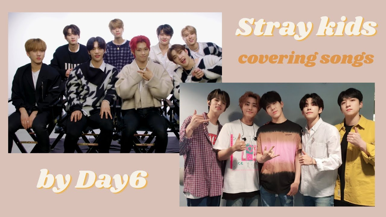 Stray kids singing Day6's songs II Seungmin being the cutest fanboy and serving vocals