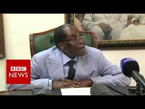 Robert Mugabe: 'We must undo this disgrace' - BBC News