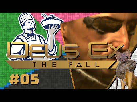 Hating Deus Ex: The Fall with Lord Pie Part 5 — What's Twits Vinegar? — Yahweasel  