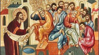 Читаем Евангелие вместе с Церковью 16 апреля 2020. Евангелие от Иоанна. Глава 13, ст.3-17.