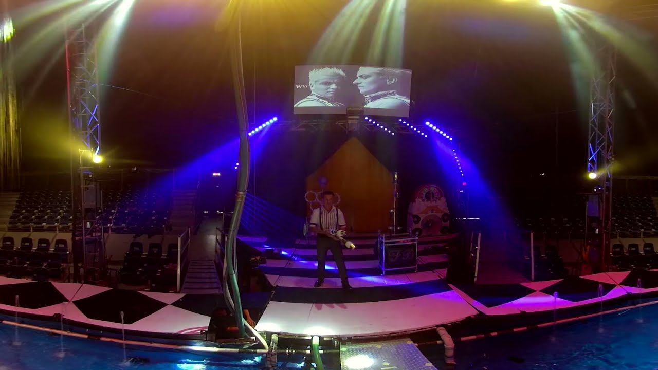 Cirque Italia Full Juggling 360 Preview 4K Dive Into The Magical Water World Of Cirque