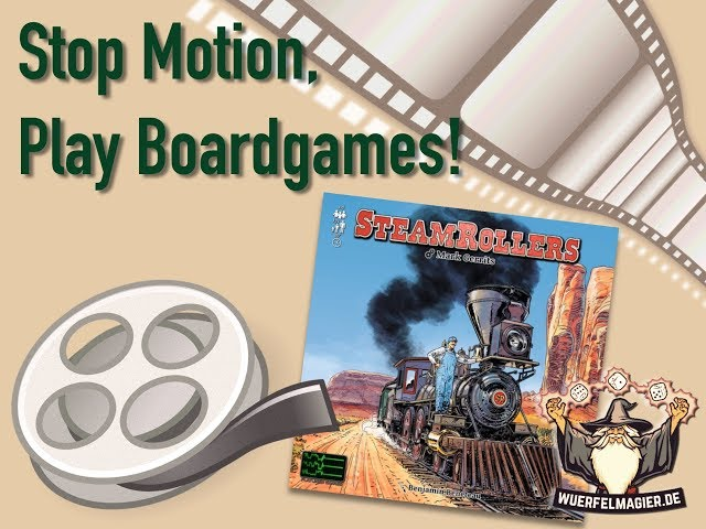 Stop Motion Unboxing - Steam Rollers