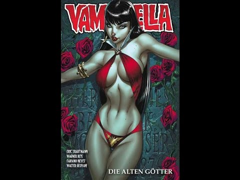 Vampirella - A  Comic Book Review