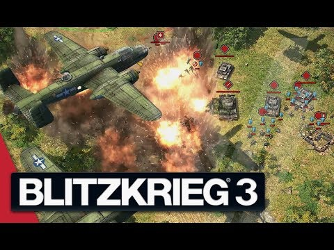Operation Avalanche - Blitzkrieg 3 Gameplay (Allied Campaign)