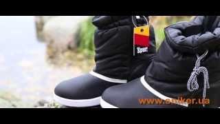 Женские зимние сапоги-дутики Spur Grey Low. Видео-обзор обуви Sniker.ua