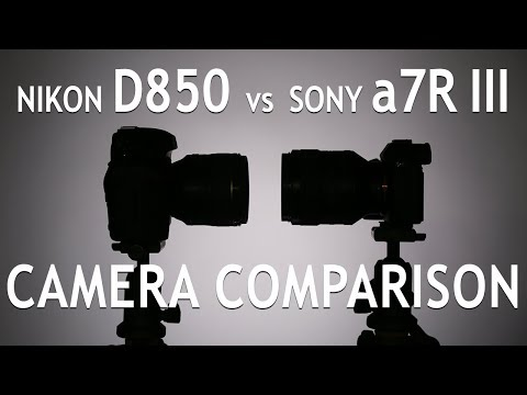 Camera Comparison: Nikon D850 vs Sony A7rIII