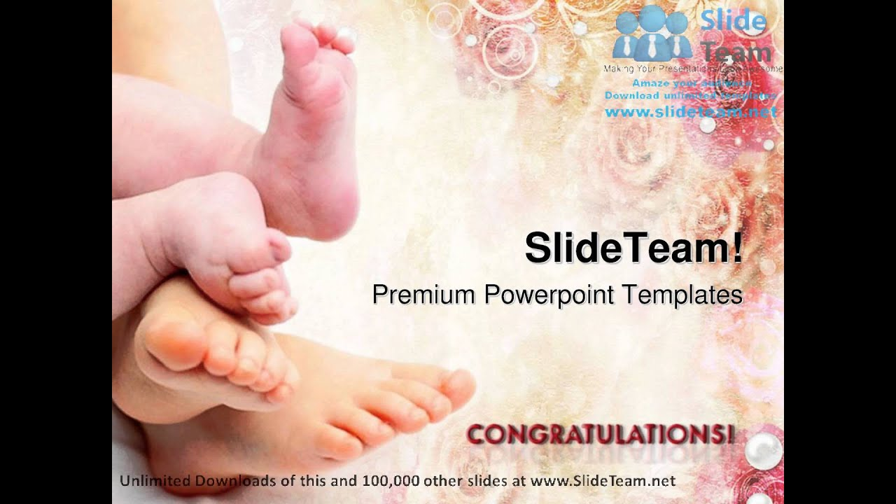 Greetings on new born baby powerpoint templates themes and greetings on new born baby powerpoint templates themes and backgrounds ppt layouts youtube m4hsunfo