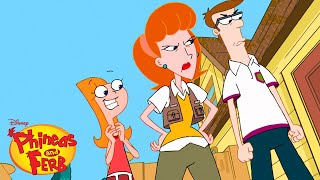 Candace FINALLY Busts Phineas and Ferb | Phineas and Ferb | Disney XD