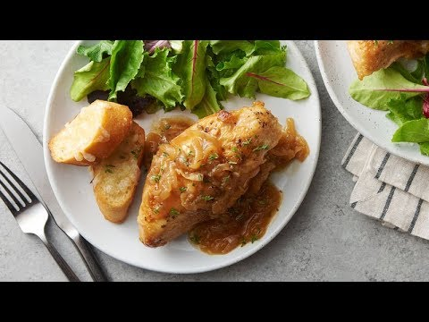 Slow-Cooker French Onion Chicken | Betty Crocker Recipe