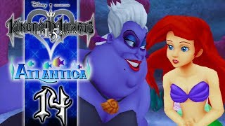 Kingdom Hearts 1.5 HD ReMIX (English) Walkthrough - KH Final Mix Proud Mode Part 14: Atlantica | Ursula Boss Battle Fight PS3 Let