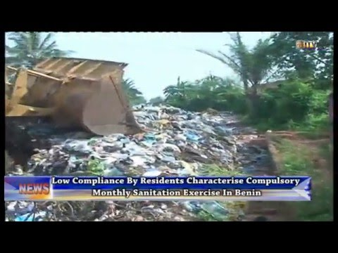 Compulsory monthly sanitation exercise records low compliance