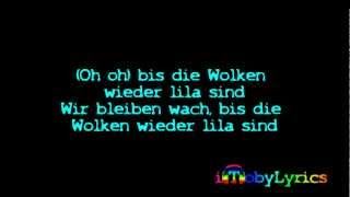 Marteria, Yasha & Miss Platnum - Lila Wolken [Official Lyrics Video | HQ/HD]