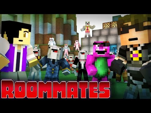 "Minecraft ROOMMATES! - ""The End.."" S2 #10 (Minecraft Roleplay)"