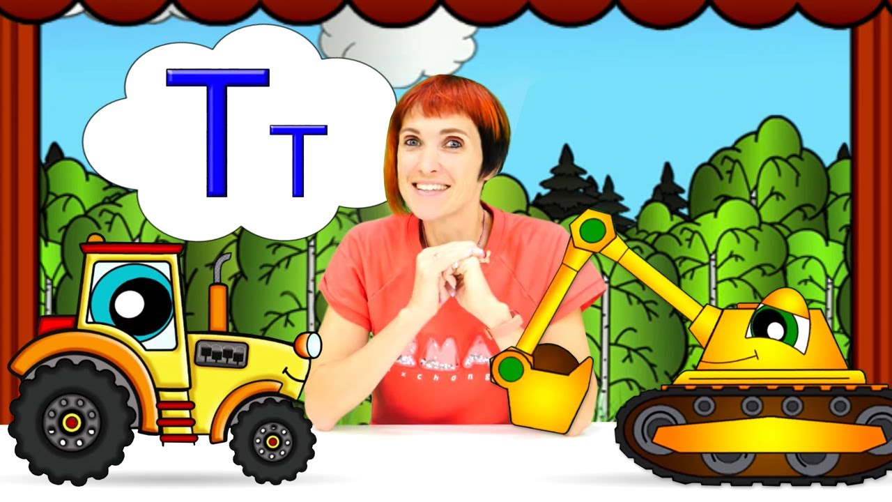 Мультфильмы для детей - Азбука с Машей Капуки Кануки и буква Т - Учим буквы