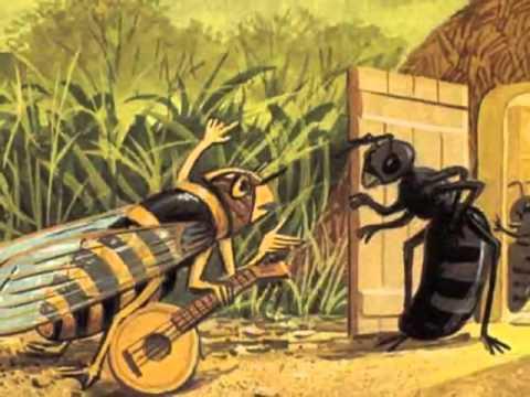La fontaine en chansons la cigale et la fourmi 360p youtube - Dessin la cigale et la fourmi ...
