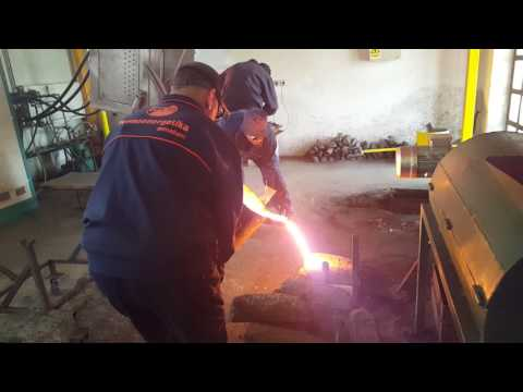 Casting Process in a Grey Iron Foundry