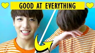 [BTS] Proof That Jungkook Is Good At Everything #2