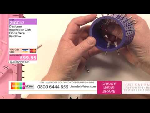 Wirework Techniques - Designer Inspiration - JewelleryMaker LIVE 27/03/2015