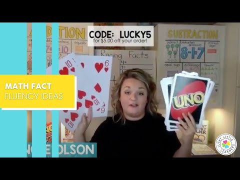 Math Fact Fluency Activities