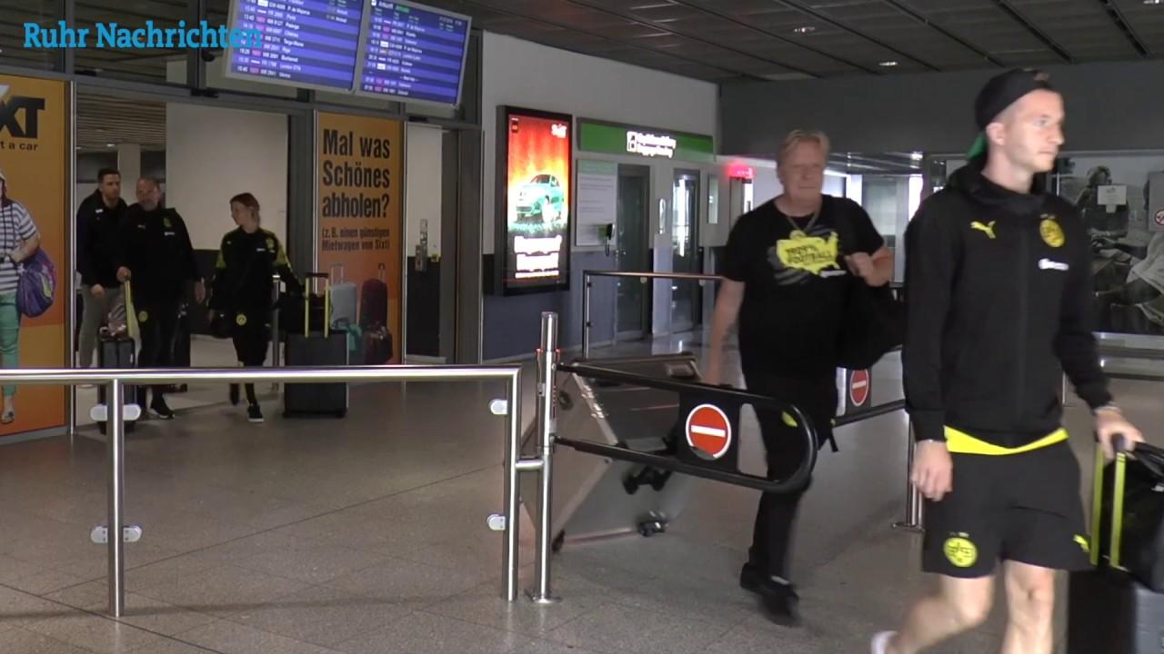 Dortmund Airport: Die BVB-Rückkehr aus den USA