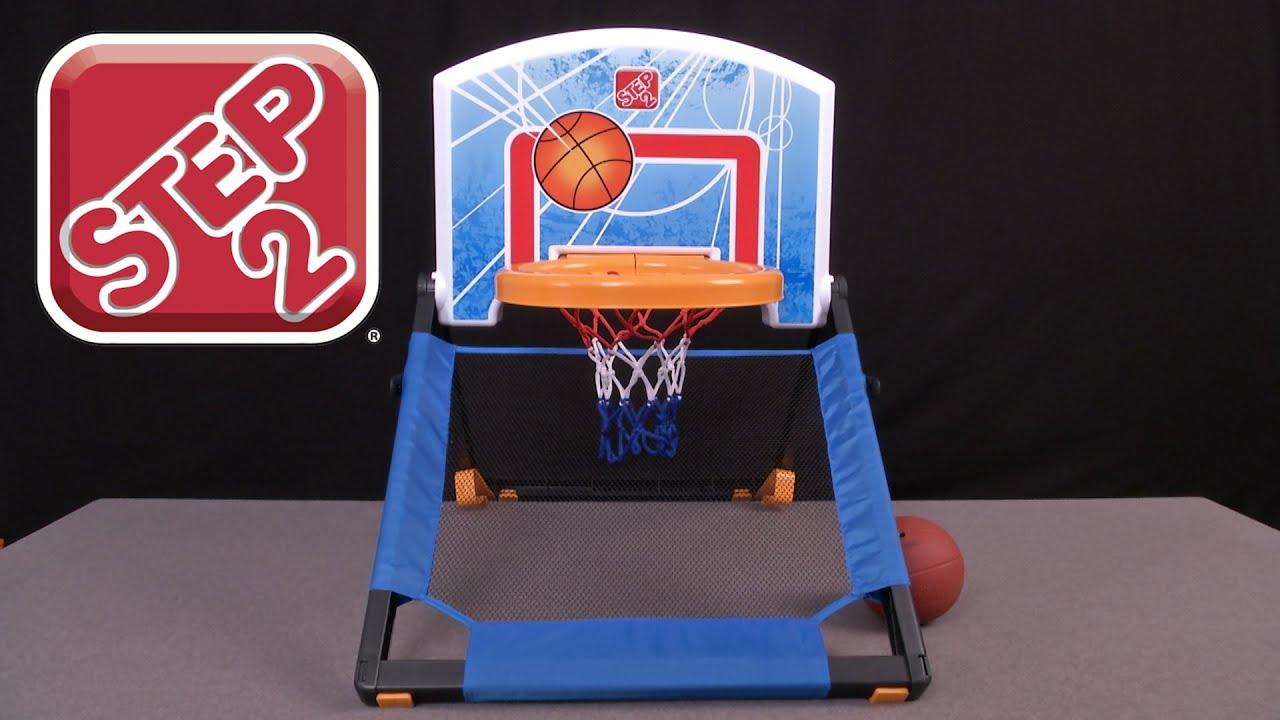 Floor-to-Door Basketball Set from Step2  sc 1 st  YouTube & Floor-to-Door Basketball Set from Step2 - YouTube