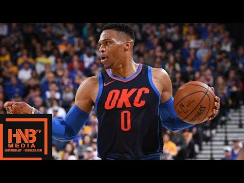 Golden State Warriors vs Oklahoma City Thunder Full Game Highlights / Feb 24 / 2017-18 NBA Season