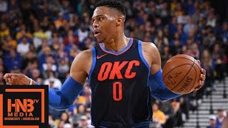 Golden State Warriors vs Oklahoma City Thunder Full Game Highlights / Feb 24 / 2017-18 NBA Season streaming