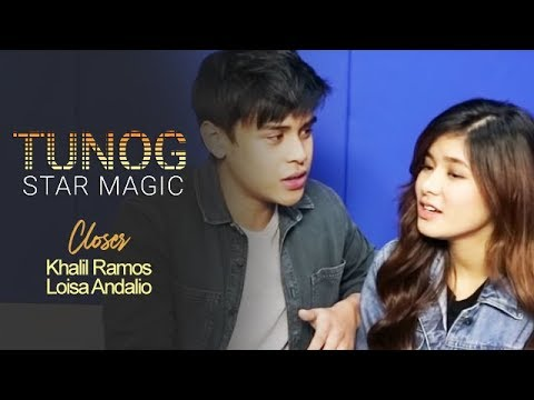 "Tunog Star Magic: Khalil and Loisa perform ""Closer"" by The Chainsmokers"