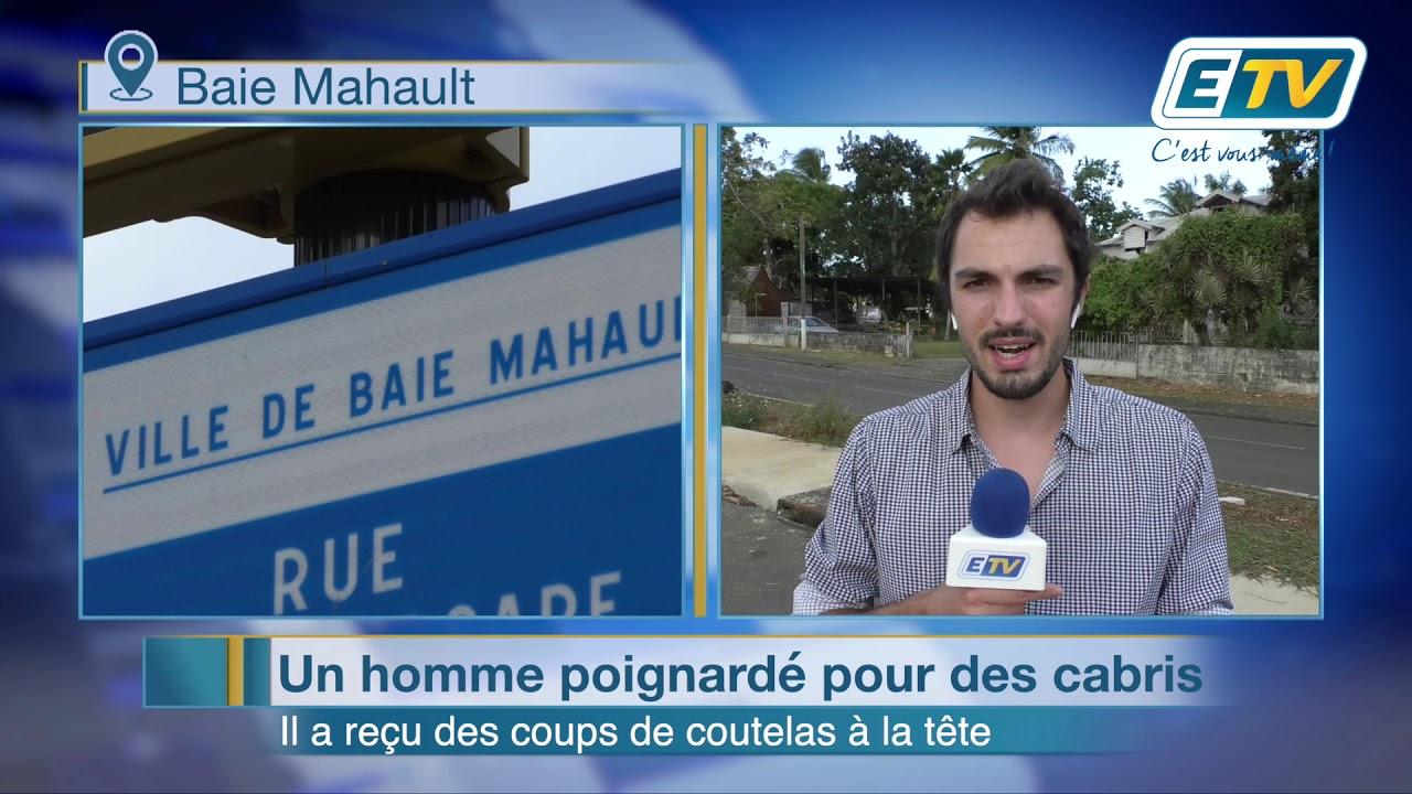 Baie Mahault : un homme agressé au coutelas pour des cabris
