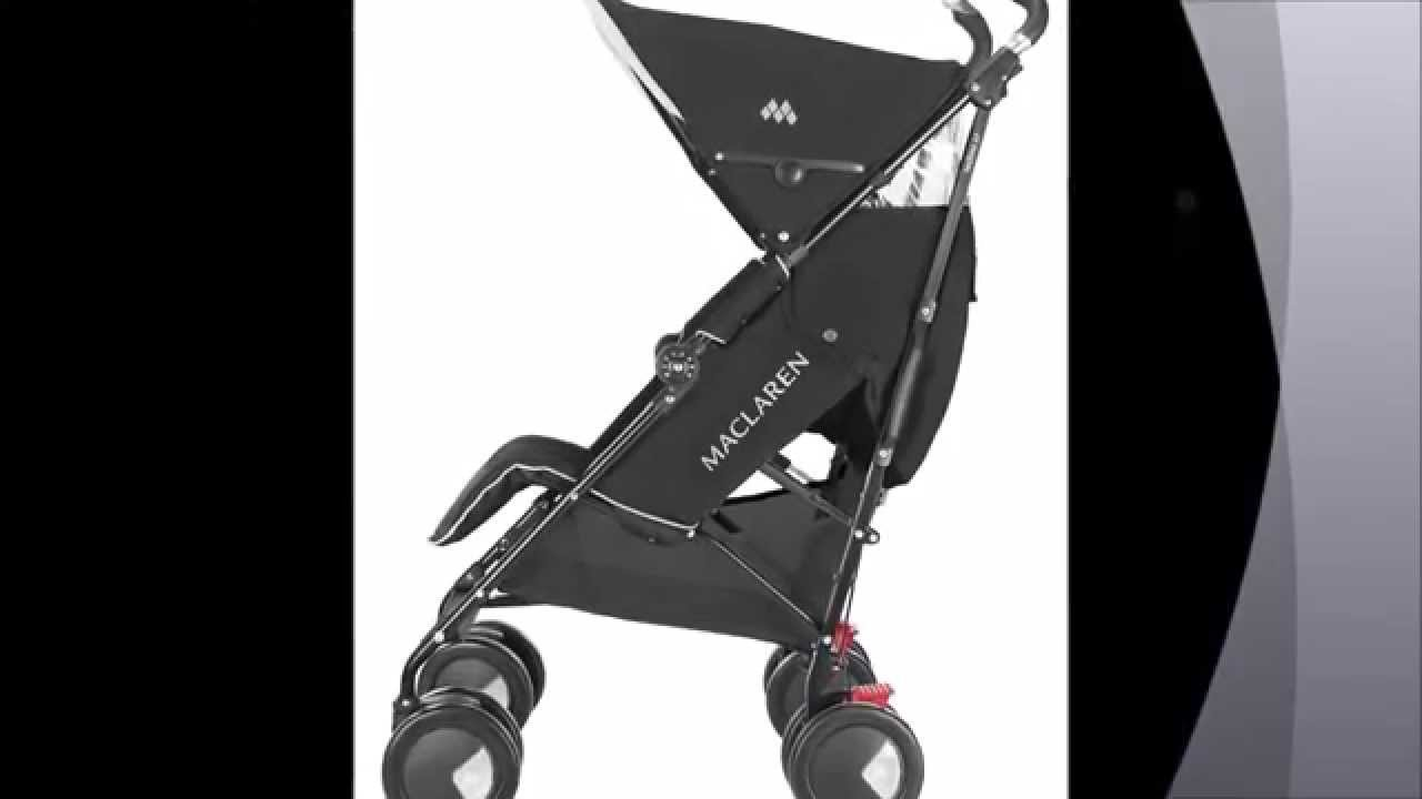 Maclaren techno xt silla de paseo color negro youtube - Silla maclaren amazon ...