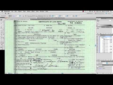04/27/11 Obama's Birth Certificate is a Photo-Shopped Forgery - What's Next?