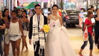 Novo Mundo realiza casamento no Porto Velho Shopping