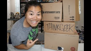 Online Funko Pop Haul! - [Target, ThinkGeek, Walgreens, Entertainment Earth]