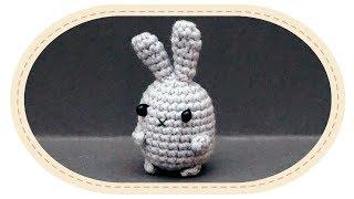 Вязаный зайчик амигуруми. Crochet rabbit amigurumi.