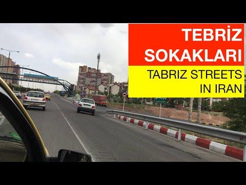 Tebriz İran Sokakları (Tabriz Streets in Iran) Part-5