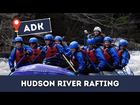 Whitewater Rafting in the Adirondack Park