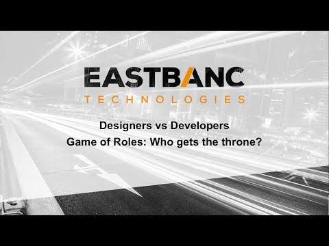 Game of Roles Pannel Designers vs Developers