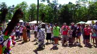 Mashpee, MA. USA Wampanoag Indian Tribe Pow Wow Video #3