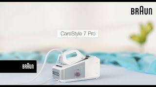 Braun Carestyle 7 Steam Generator Iron- Awarded as the best | Introduction