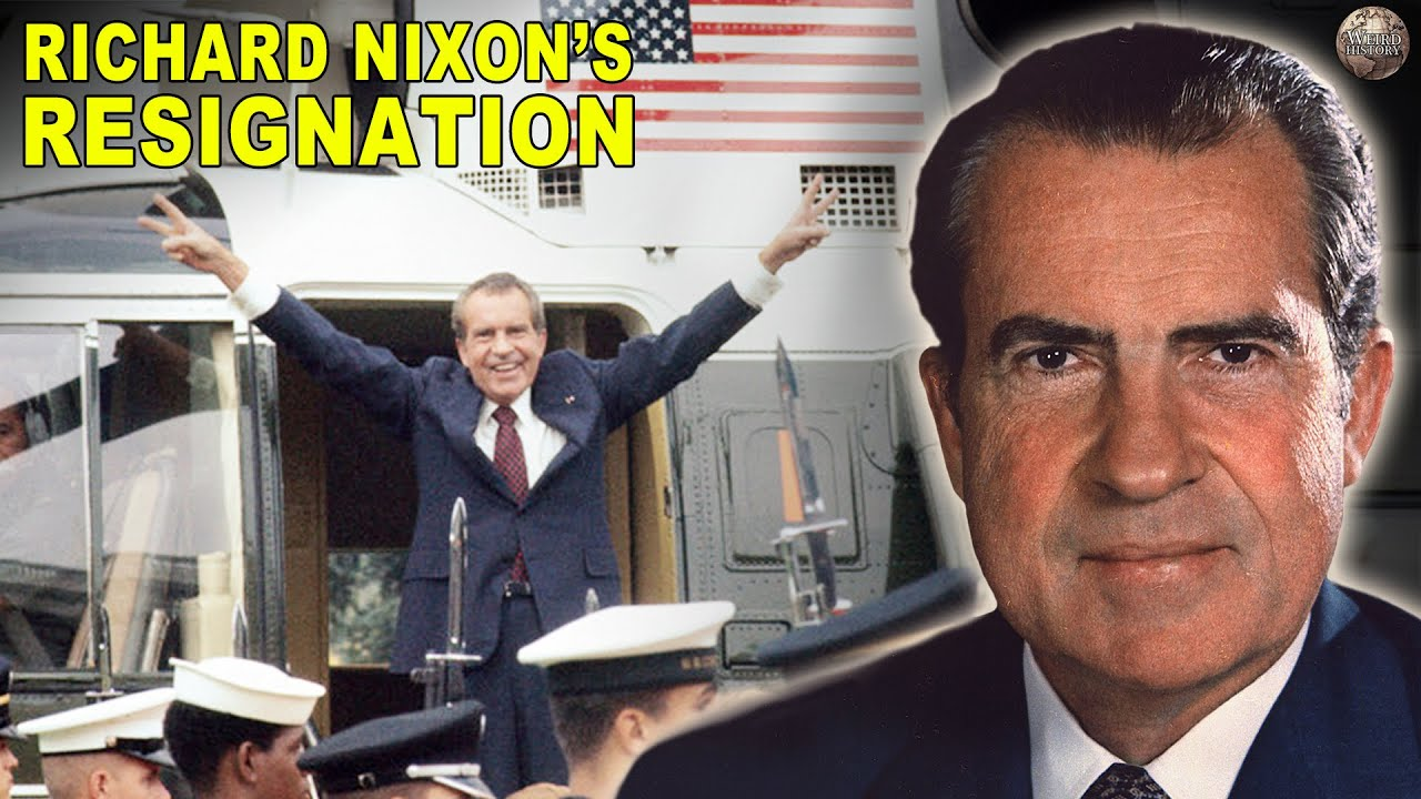 Everything That Happened Leading Up to Nixon's Resignation