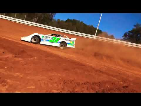 Greg Estes stirring the RED CLAY @ Clay Valley!