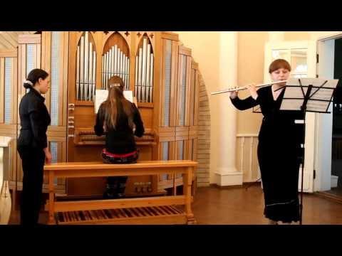 Бах, Иоганн Христиан - Клавирная соната op.17 №5 ля мажор